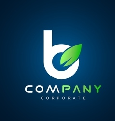 Alphabet small letter b logo icon design vector