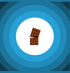 Isolated dessert flat icon wrapper element vector