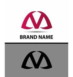 Letter v logo icon design vector image vector image