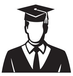 Student graduate vector