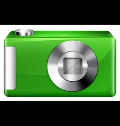 A green digicam vector