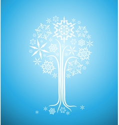christmas winter vector image