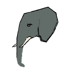 Elephant african animal vector