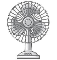 table fan vector image vector image
