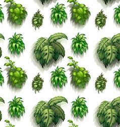 Seamless plants vector