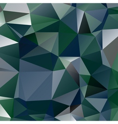 Abstract stained glass in green blue and grey vector