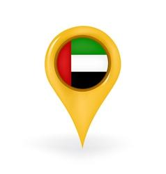 Location united arab emirates vector