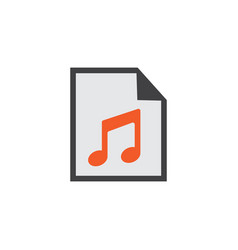 Play list flat icon symbol premium quality vector