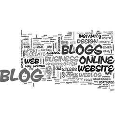 what the heck is a blog text word cloud concept vector image vector image