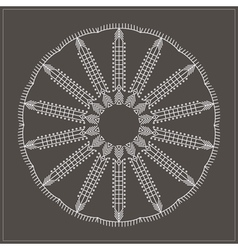 Geometric hipster circle 617547169 vector