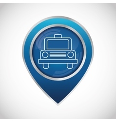 Transportation icon design vector
