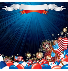 Usa celebrations vector