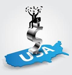 americans rich vector image