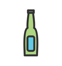 Beer bottle i vector