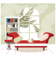 Home Lounge Background vector image vector image