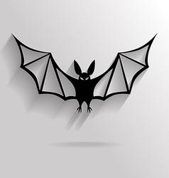 Vampire flat vector