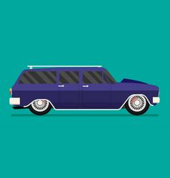 old school race car vector image