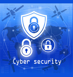 Cyber security vector