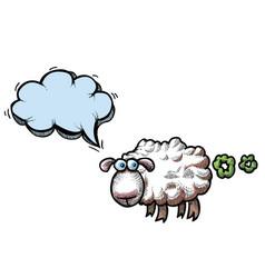 Farting sheep-100 vector