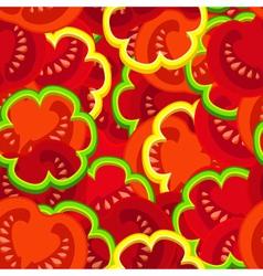 tomato pattern vector image