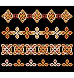 Celtic ornaments vector