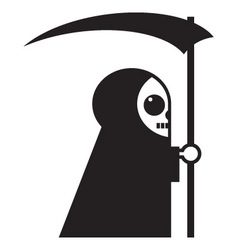 death icon vector image vector image