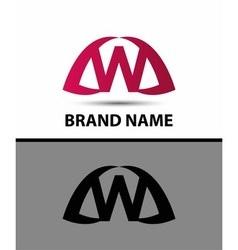 Letter w logo icon design vector