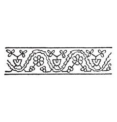 Persian design are iranian modern or contemporary vector
