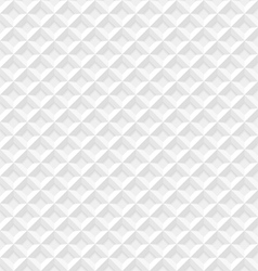 White seamless geometric pattern vector image vector image