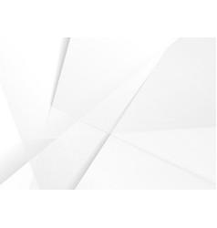 abstract grey hi-tech polygonal corporate vector image