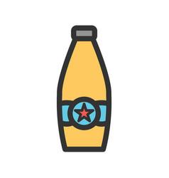 Beer bottle ii vector