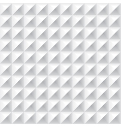 Geometrical abstract seamless pattern in white vector image vector image