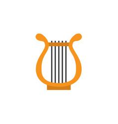 Philharmonic flat icon symbol premium quality vector