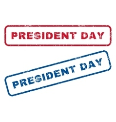 President day rubber stamps vector