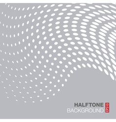 Abstract Gray - White Halftone Background vector image vector image