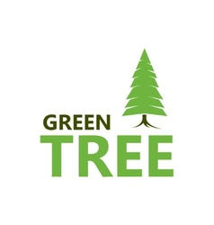 Pine icon vector image