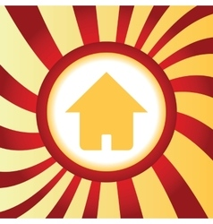 Home abstract icon vector