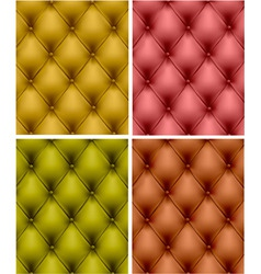 upholstery leather vector image