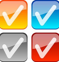 Check buttons vector