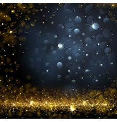 Christmas bokeh background vector