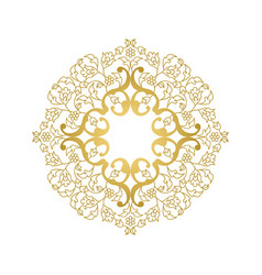 Floral ornament in oriental style vector