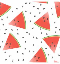 watermelon seamless tile vector image vector image