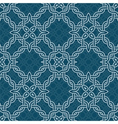 Knot tribal seamless pattern vector