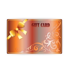 Gift coupon gift card vector
