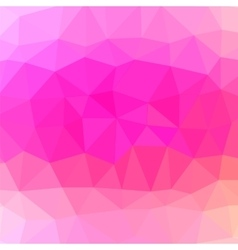 Mosaic pink background vector