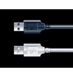 Usb wire vector