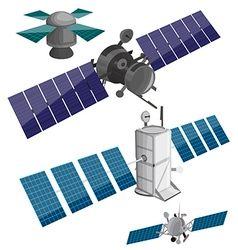 Satellite set vector