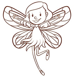 A fairy vector image vector image
