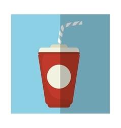 Soda drink cup vector image