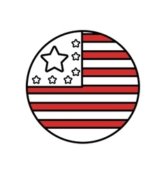 United states of america medal vector